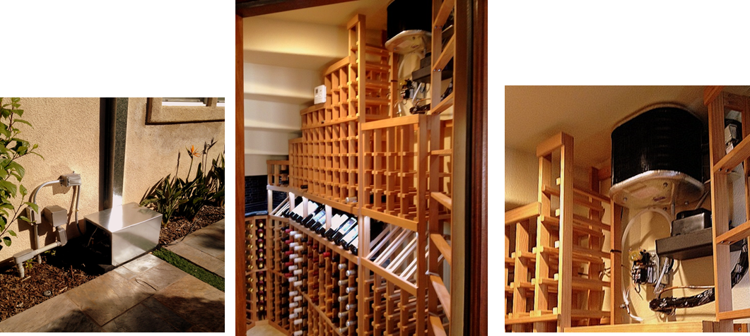 Installing Arctic 0025 Split Wine Cellar Cooling Systems