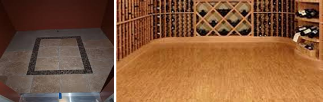 Tile Wine Cellar Flooring