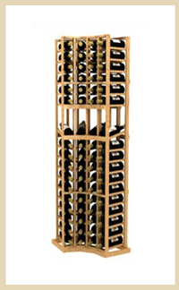 True Radius Curved Wine Rack