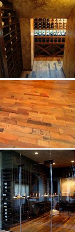 what are the wine cellar flooring options to choose from