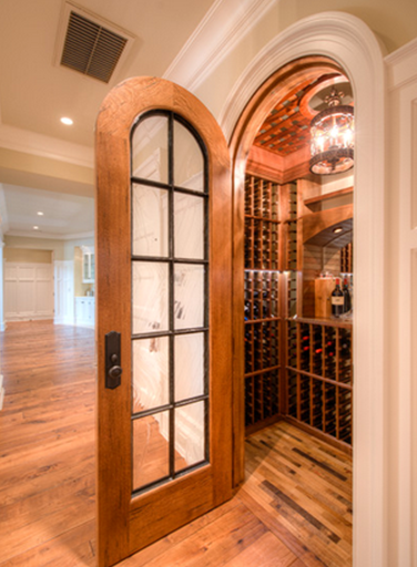 Wine cellar design unique ideas that can help you have a Turn closet into wine cellar